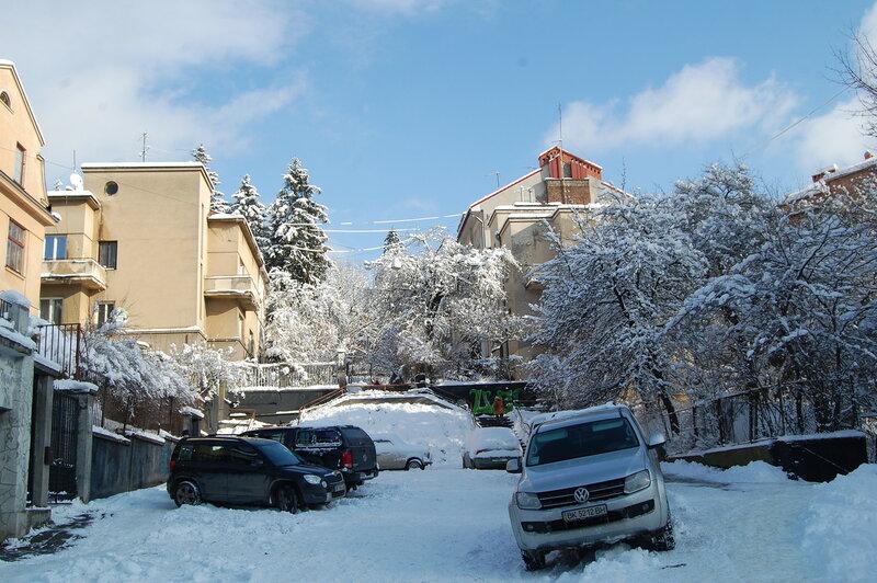 Снова выпал снег