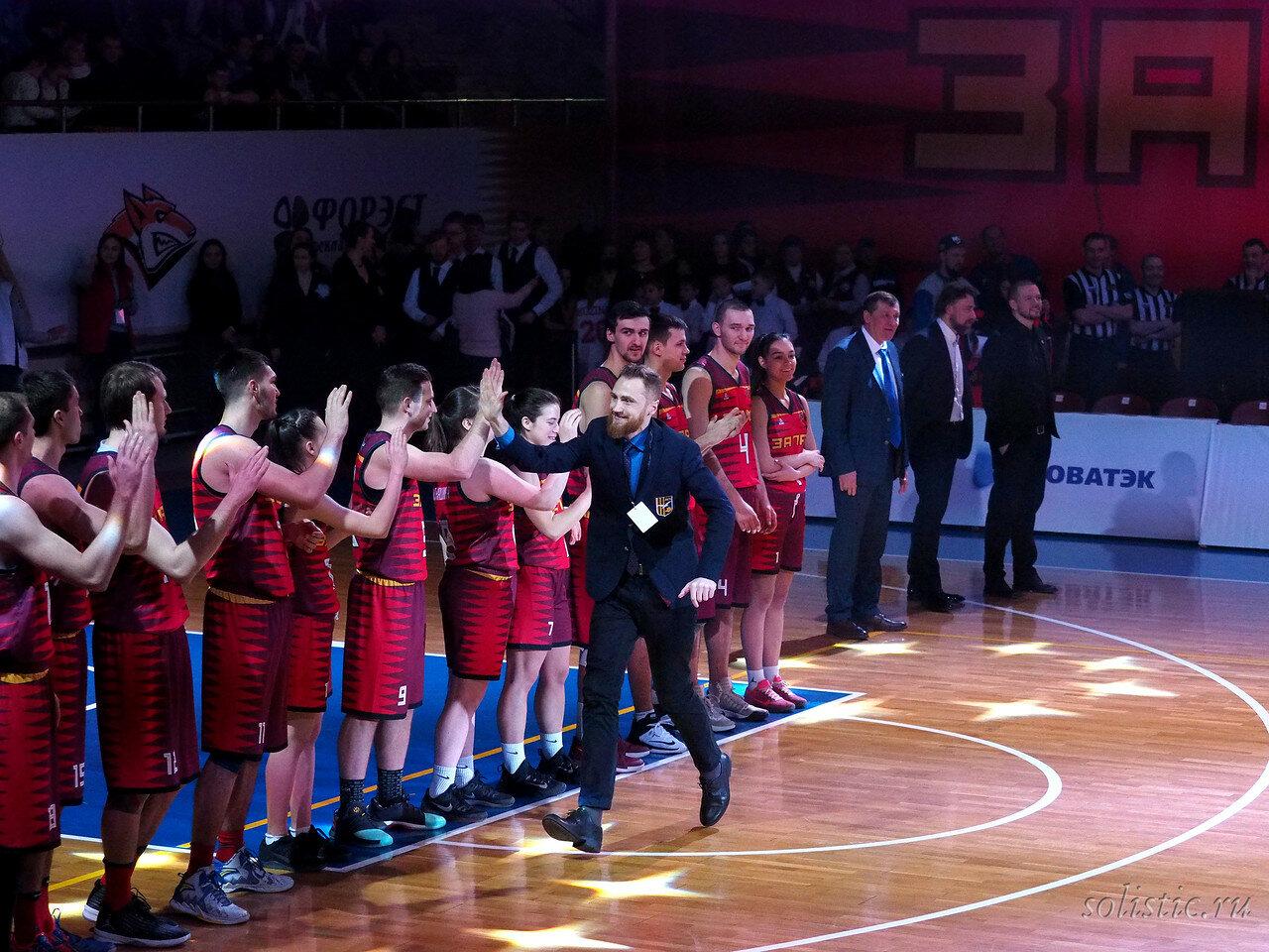 31 Матч звезд АСБ 2018 (ассоциации студенческого баскетбола)