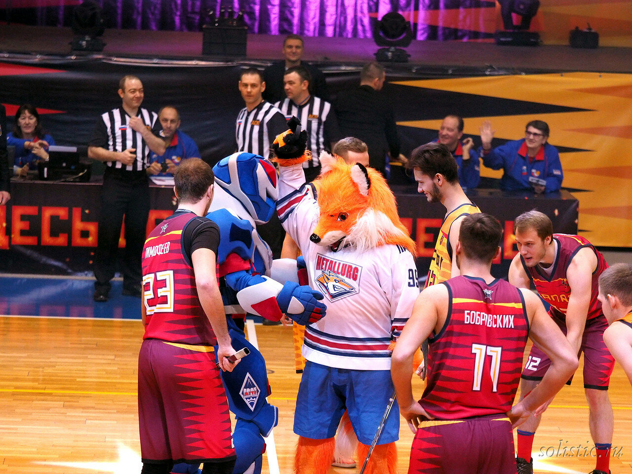 51 Матч звезд АСБ 2018 (ассоциации студенческого баскетбола)