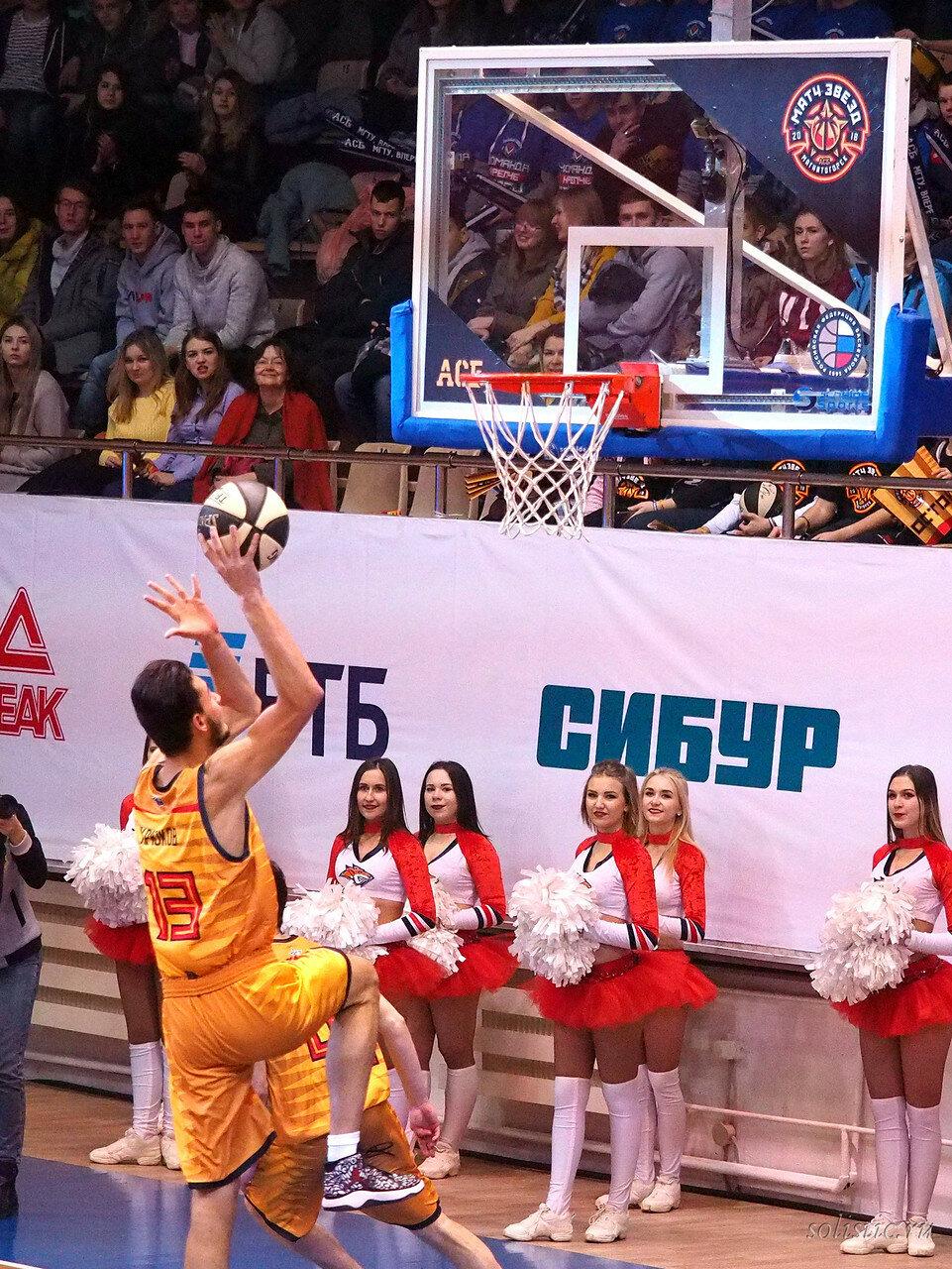 69 Матч звезд АСБ 2018 (ассоциации студенческого баскетбола)