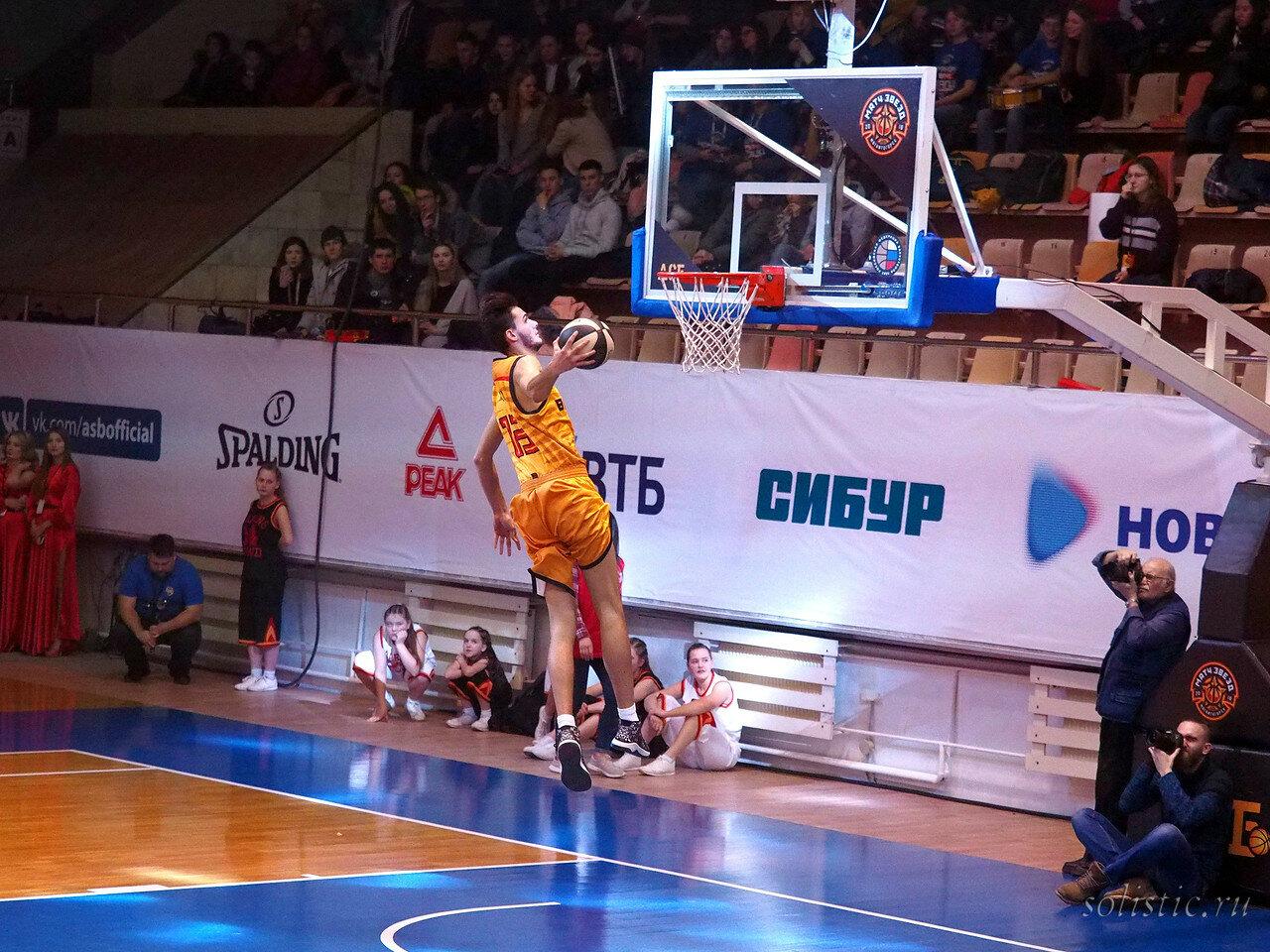 115 Матч звезд АСБ 2018 (ассоциации студенческого баскетбола)
