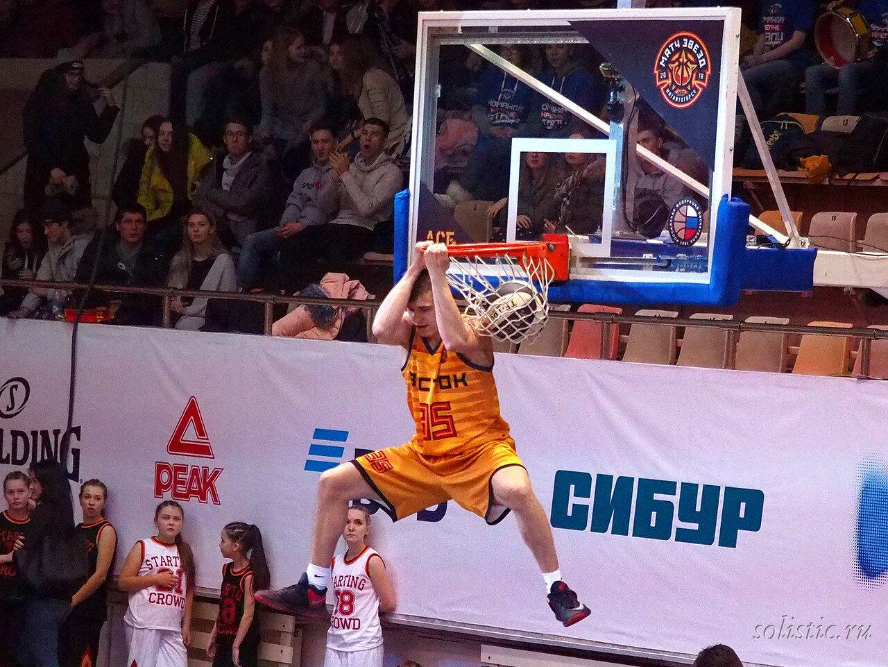 116 Матч звезд АСБ 2018 (ассоциации студенческого баскетбола)