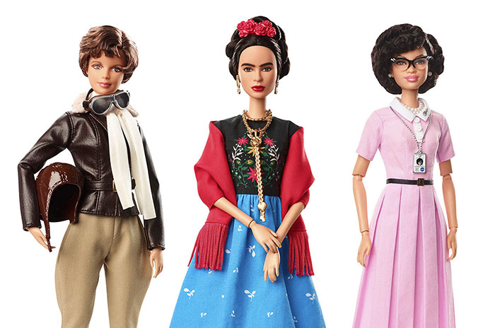 Коллекция кукол Барби, посвященная выдающимся женщинам