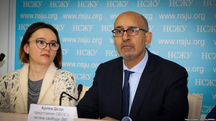Представитель ОБСЕ в Киеве: угрозы в отношении журналистов должны расследоваться