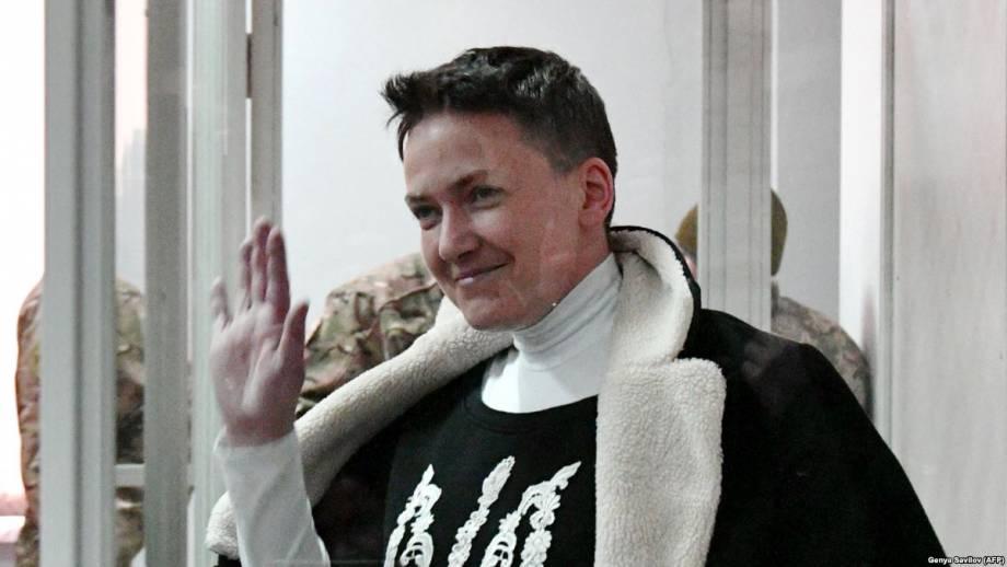 Суд арестовал Савченко