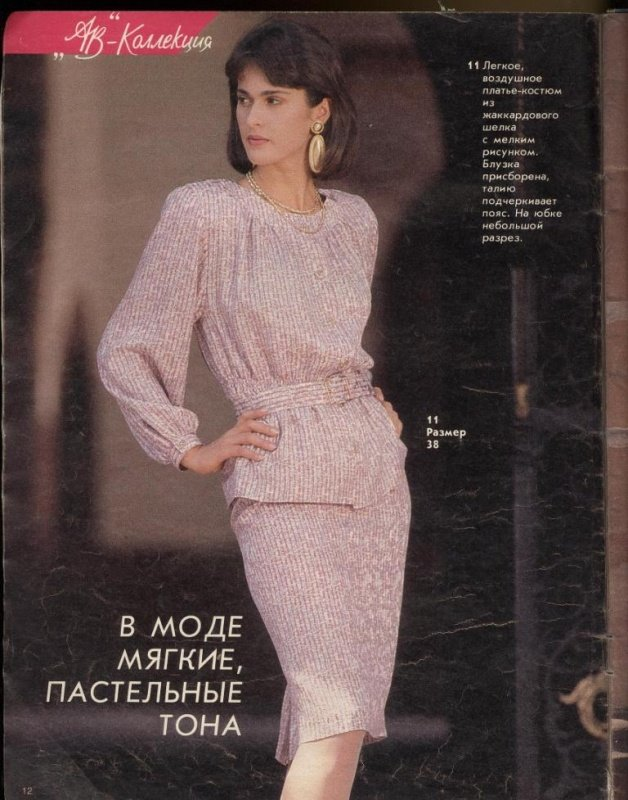 Артефакты истории. Burda Moden первый номер на русском языке