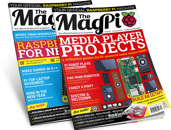 The MagPi — Issue 65, 66 (January, February 2018)