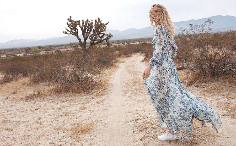 Frederikke Sofie by Benny Horne for Zimmermann Spring 2018