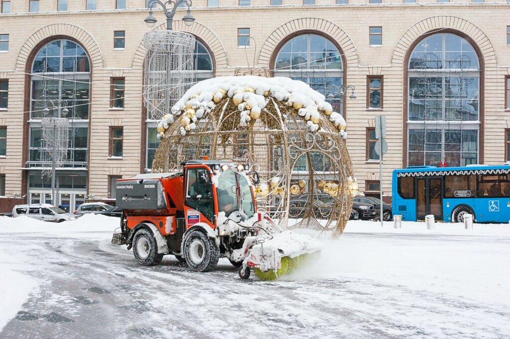 Снегопад в Москве 05 февраля 2018 года
