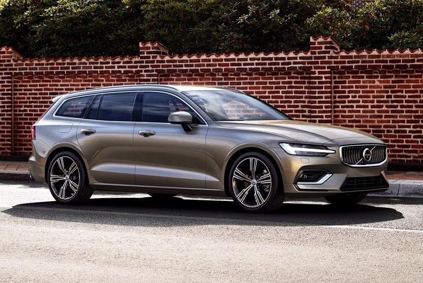 Volvo представила новый универсал V60
