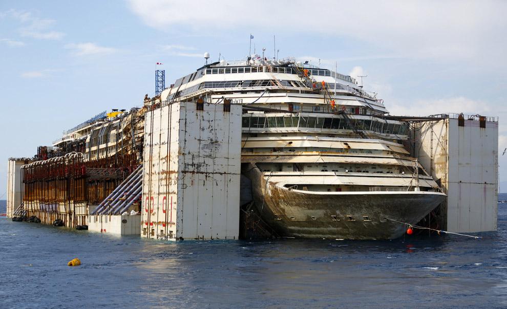 HD италия катастрофы корабль круиз