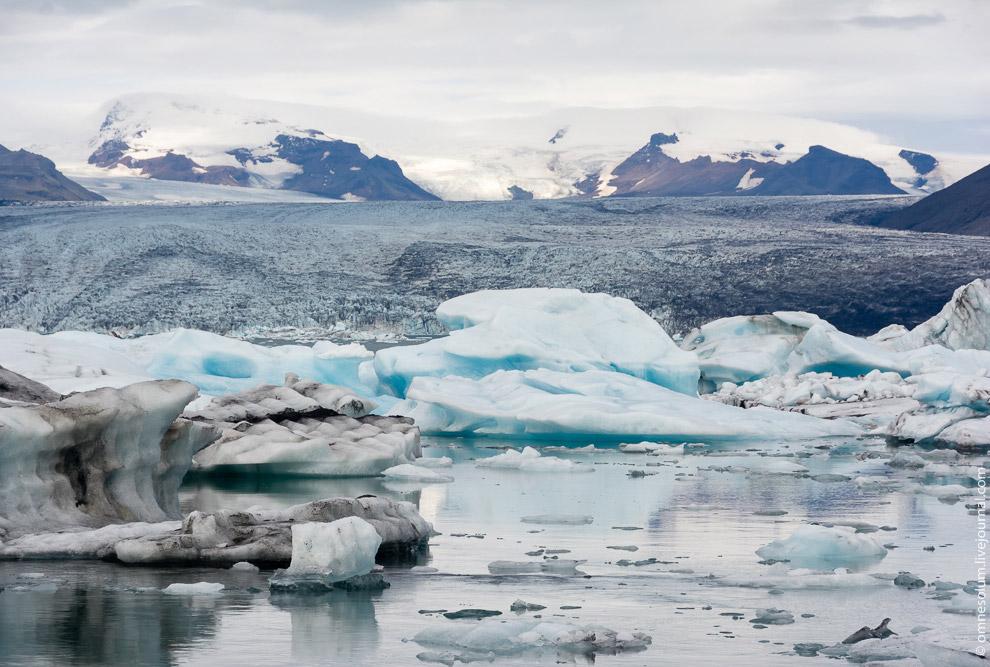 Ледовая лагуна в Исландии