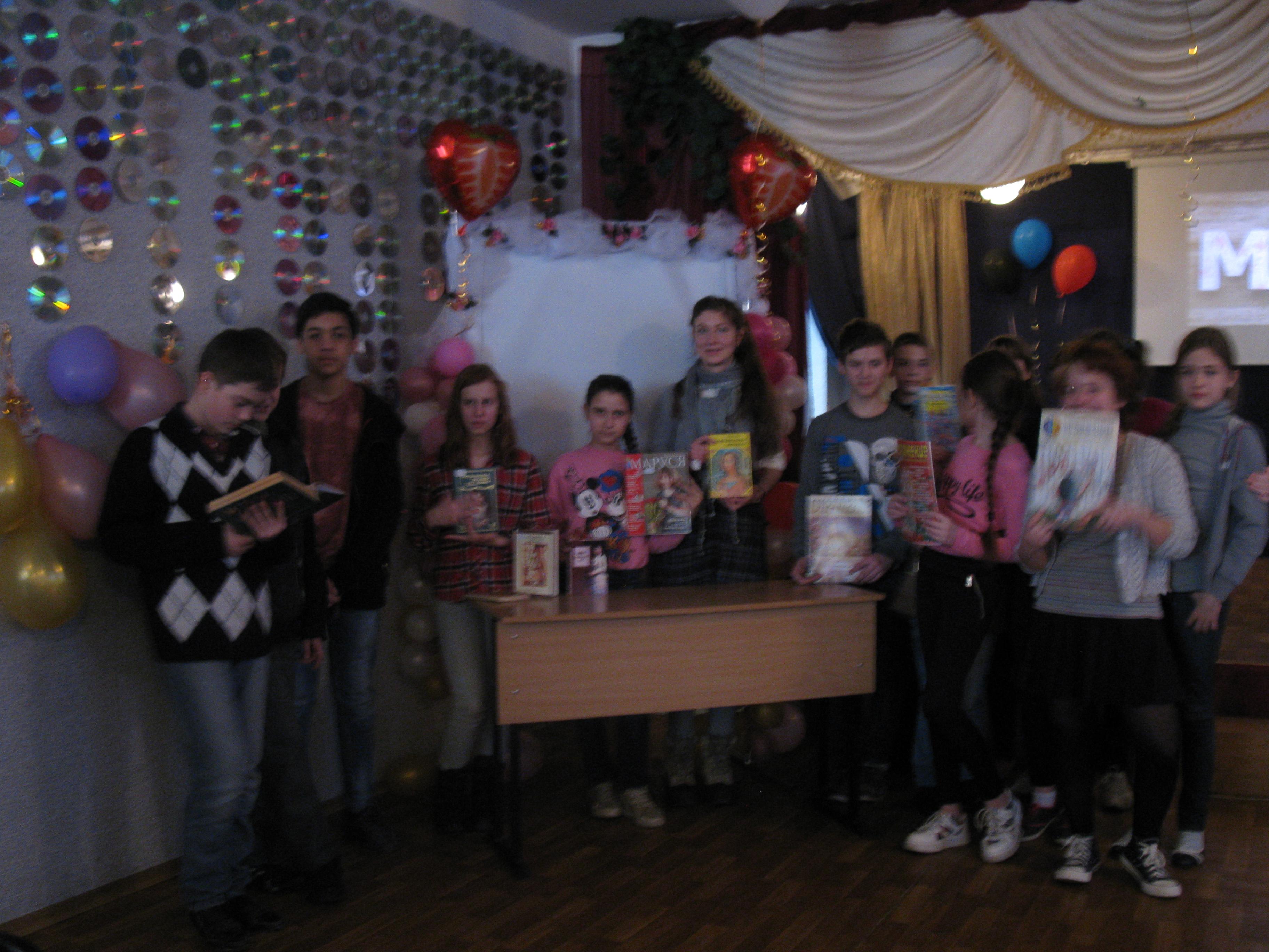 международный женский день, праздник весны, донецкая республиканская библиотека для детей, отдел обслуживания учащихся 5-9 классов