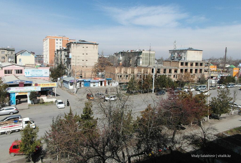 Улица Зайнабетдинова, Ош, обзор