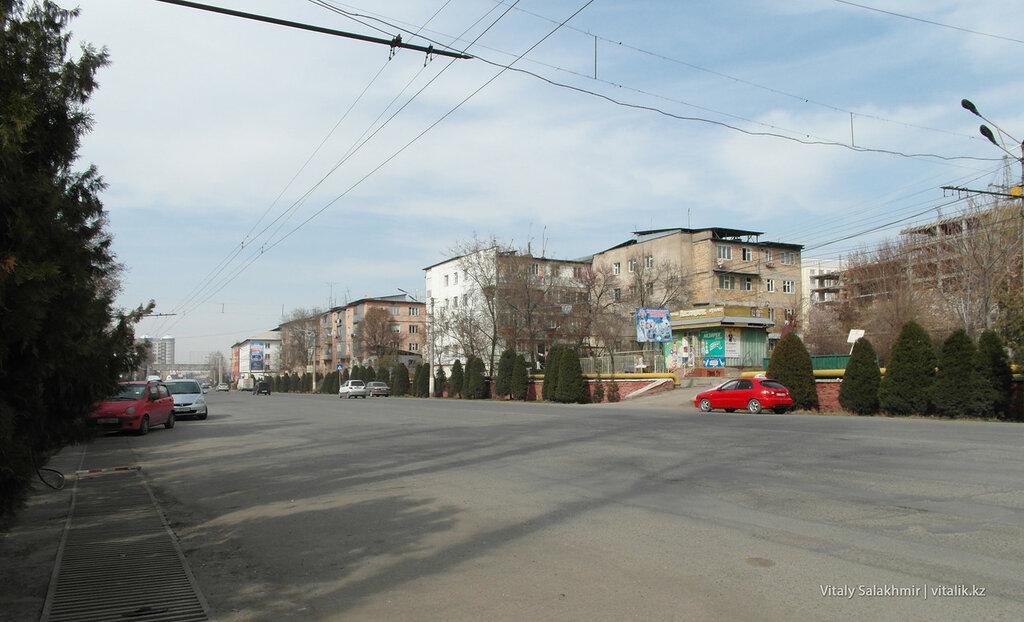 Проспект Масалиева в Оше
