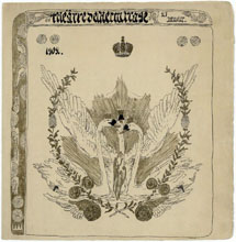 Программа представления в Эрмитажном театре в С.-Петербурге 25 января 1902 г.