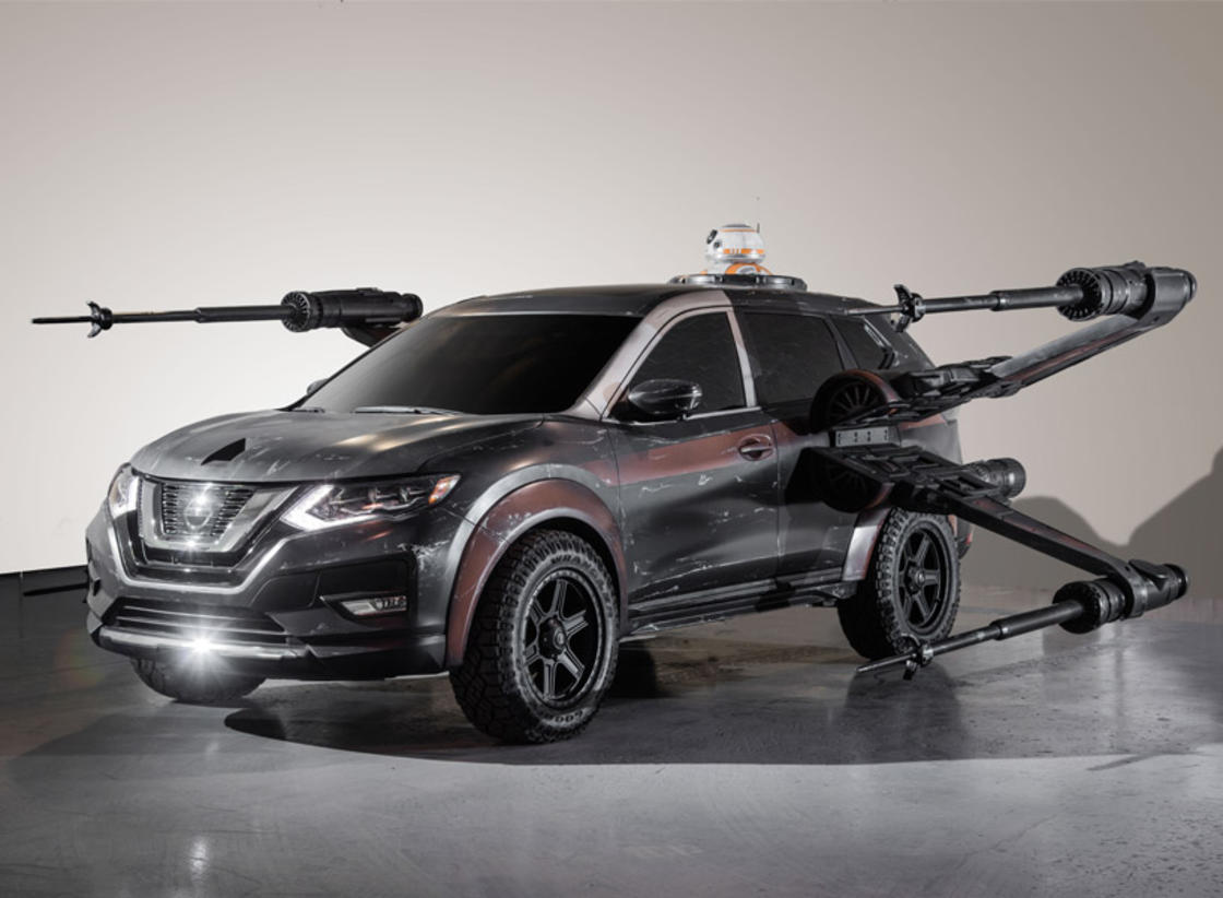 Nissan Star Wars – When Nissan pays tribute to the Star Wars spaceships (15 pics)
