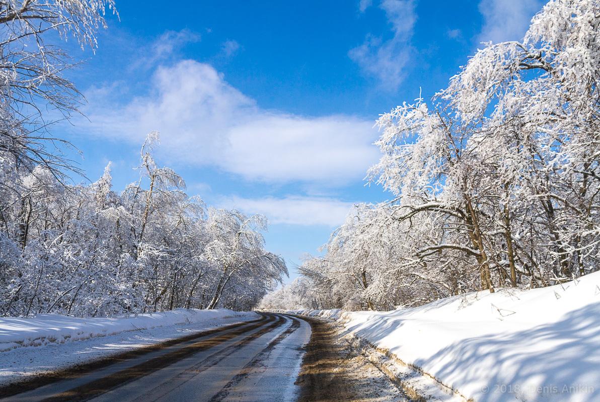 Зима кумысная поляна фото 1