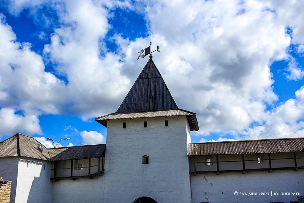 рыбницкая башня псковского кремля