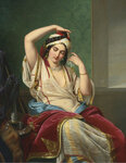 Paul Emil Jacobs 18021866 A harem beauty at her toilette.jpg