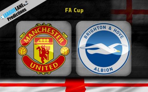 Манчестер Юнайтед – Брайтон (17.03.2018) | Англия. Кубок ФА 2017/18
