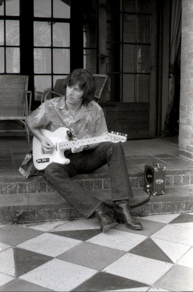1975. Эрик Клэптон