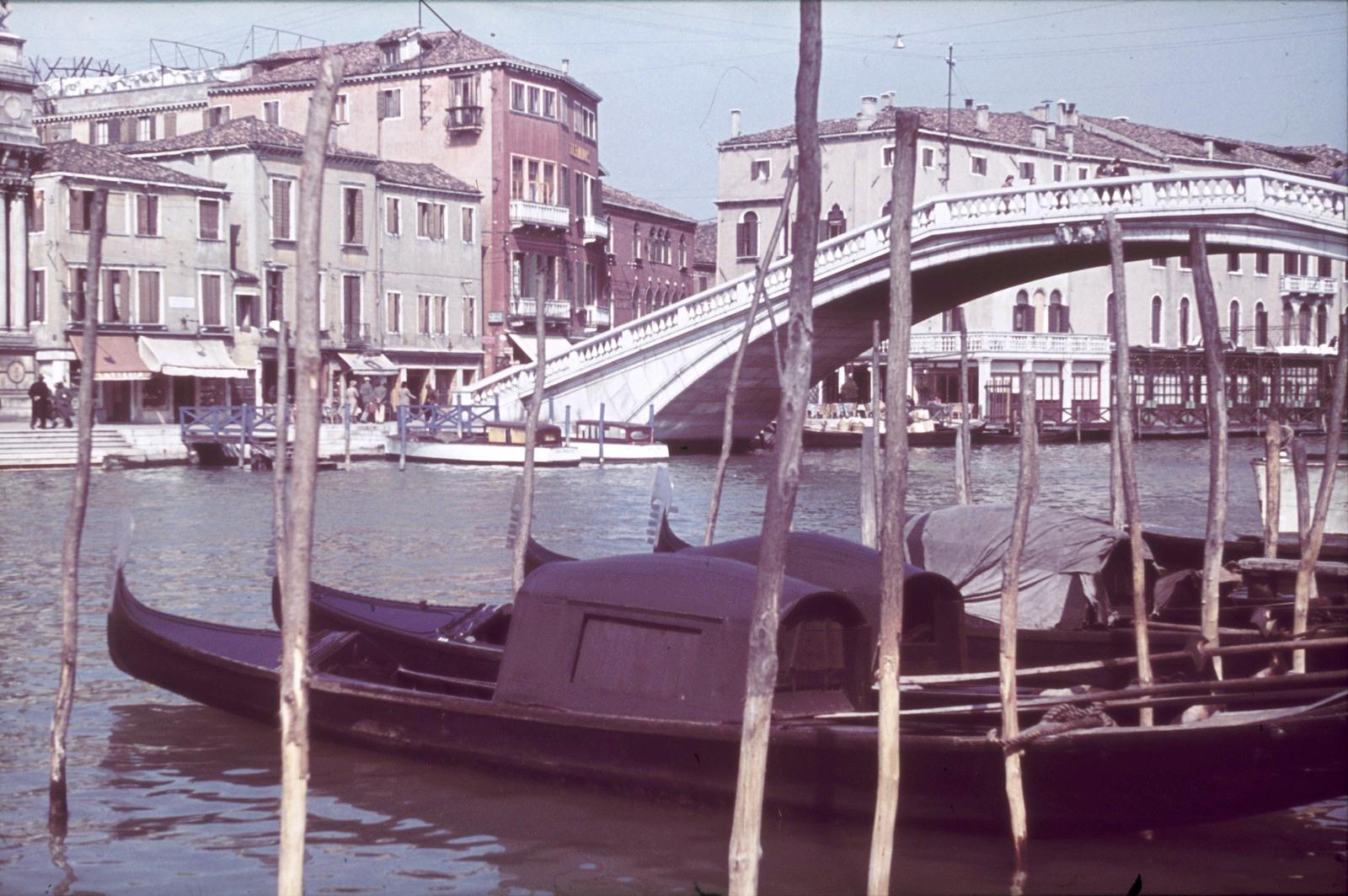 Большой канал. Мост Скальци