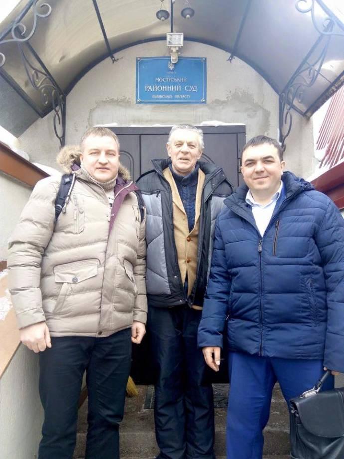 На Львовщине судят еще одного активиста, который встречал Саакашвили на границе