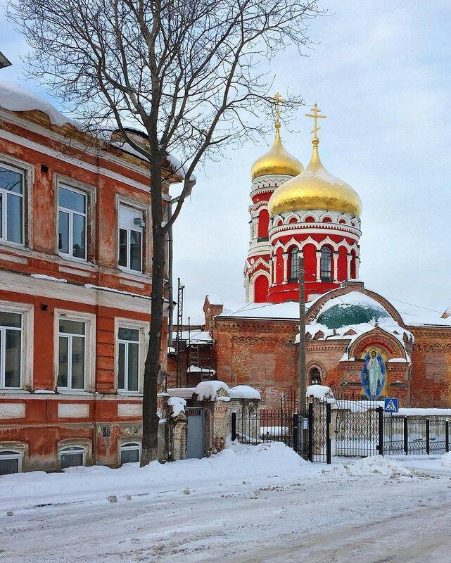 Нижний Новгород. Церковь Воскресения Христова в Ямской слободе (1884-1886)