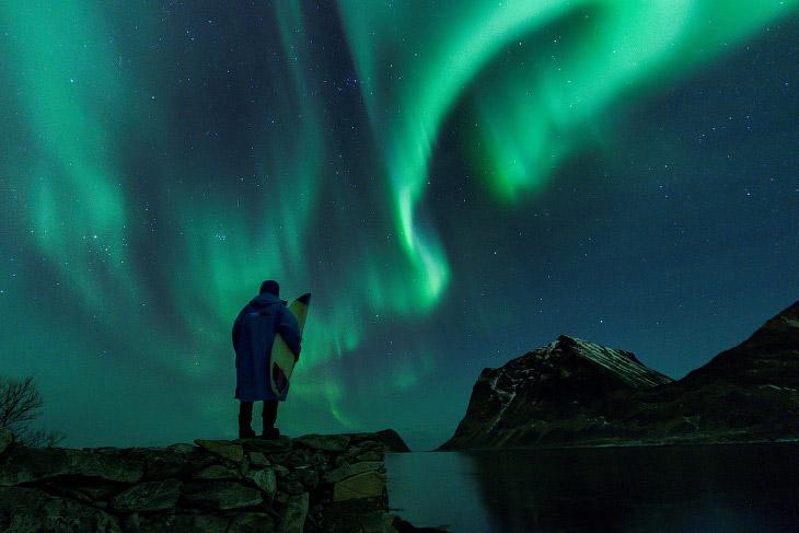 Арктический серфинг в Норвегии (22 фото)