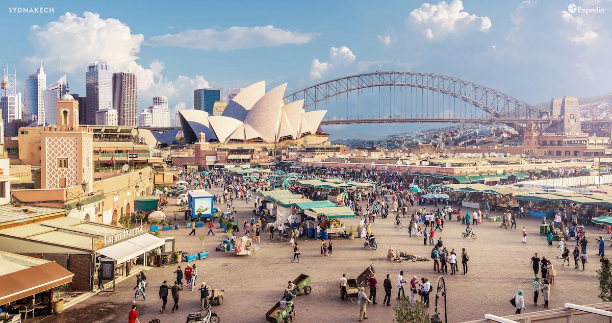 Amazing Hybrid Cities for Expedia