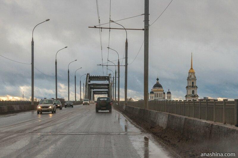 Рыбинский мост через Волгу