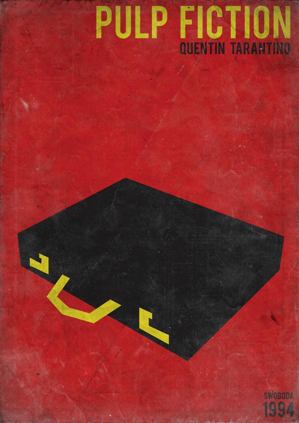 Retro Minimalist Movie Posters - Swoboda
