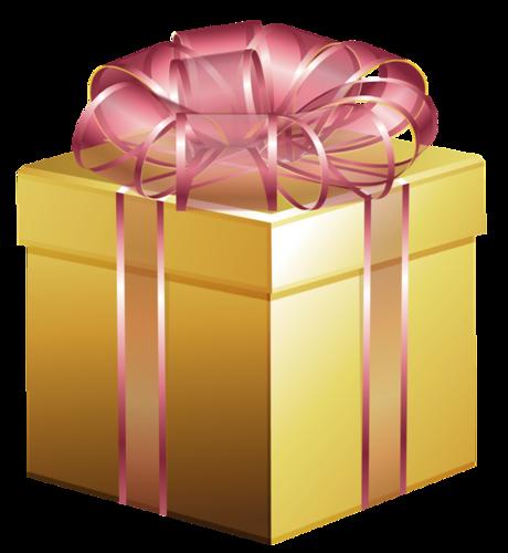Картинка анимация подарок в коробке 50