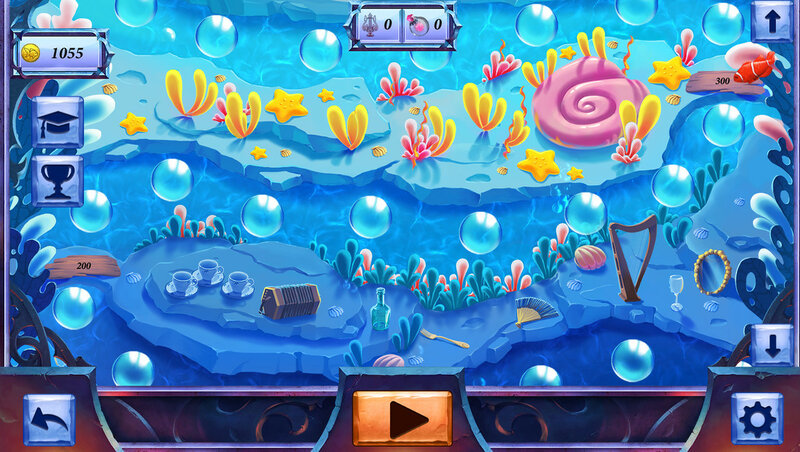 Picross Fairytale: Legend Of The Mermaid screen 2