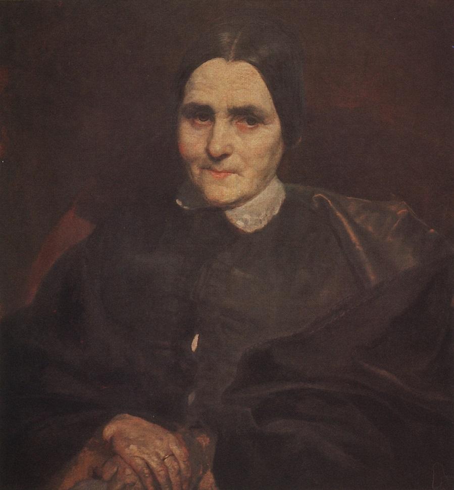 Портрет Екатерины Титтони. 1850-1852 Частное собрание.