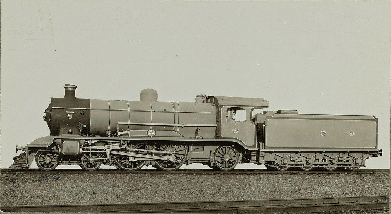 1920-1921. Локомотив компании «Baldwin Locomotive Works» из Филадельфии