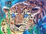 Головяшкин Тимофей (рук. Стрикулистова Лидия Константиновна) - Леопард на  охоте