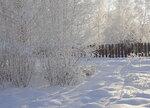 Зима рисует нежные узоры...