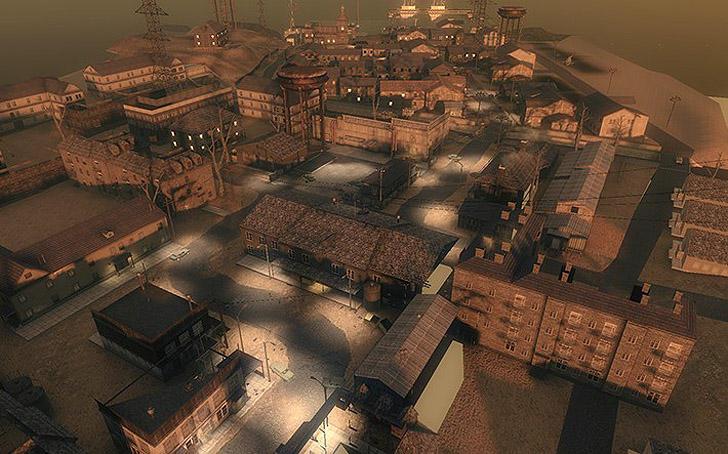 город заброшенный остров