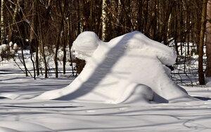 Жертва снегопада