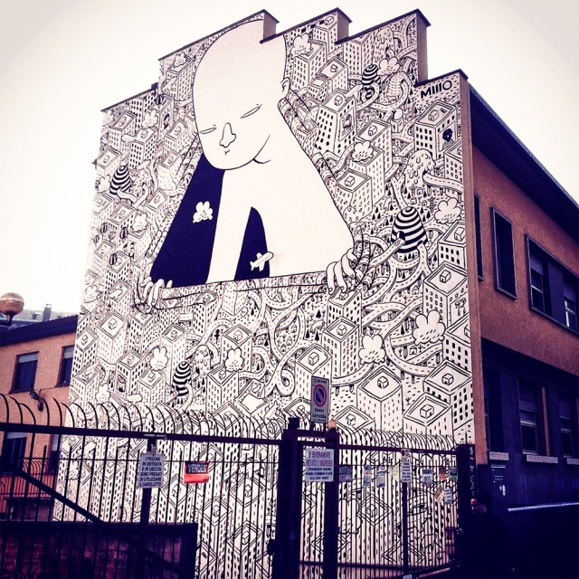 Gigantic Street Mural Paintings