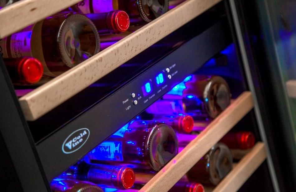 винные шкафы ColdVine в Краснодаре, недорогие винные холодильники