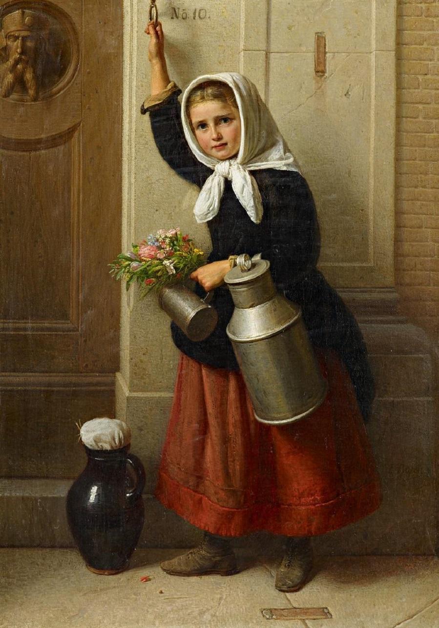 The Rhenish Milk Maid as Well-Wisher.