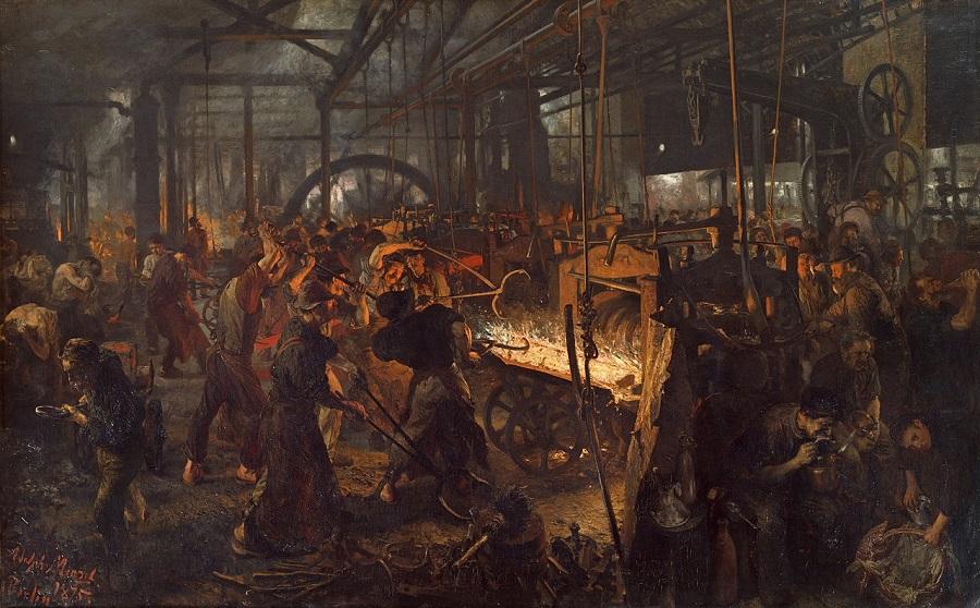 «Железопрокатный завод». 1875