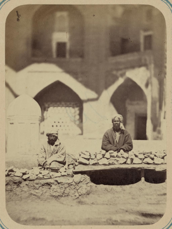 Самаркандский базар и типы торговцев. Продажа соли