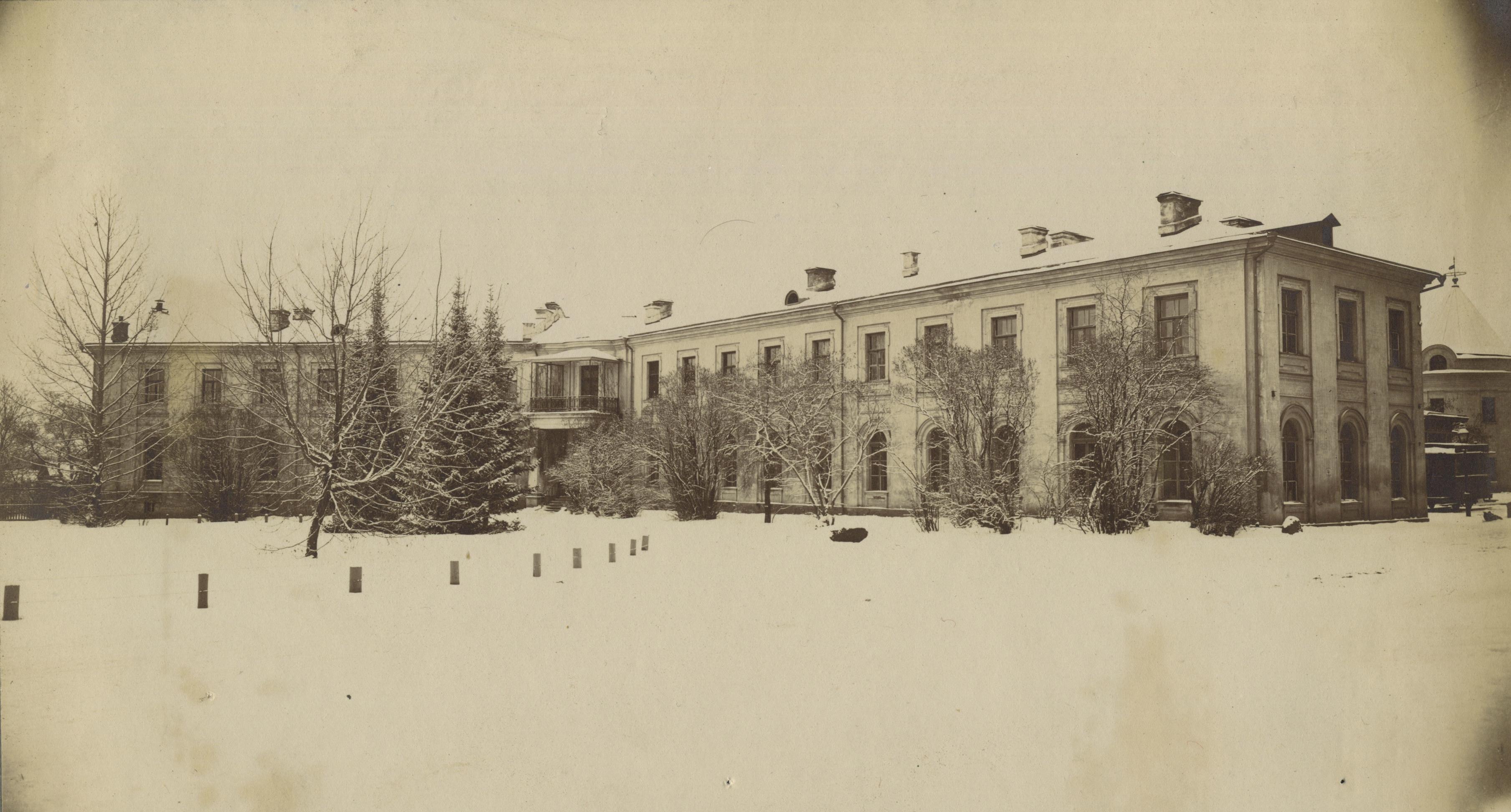 Кабинеты химии и удобрений Петровской академии