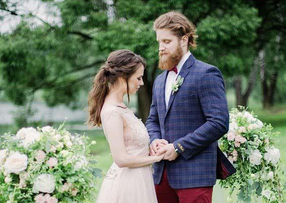 организовать «воздушную» свадьбу