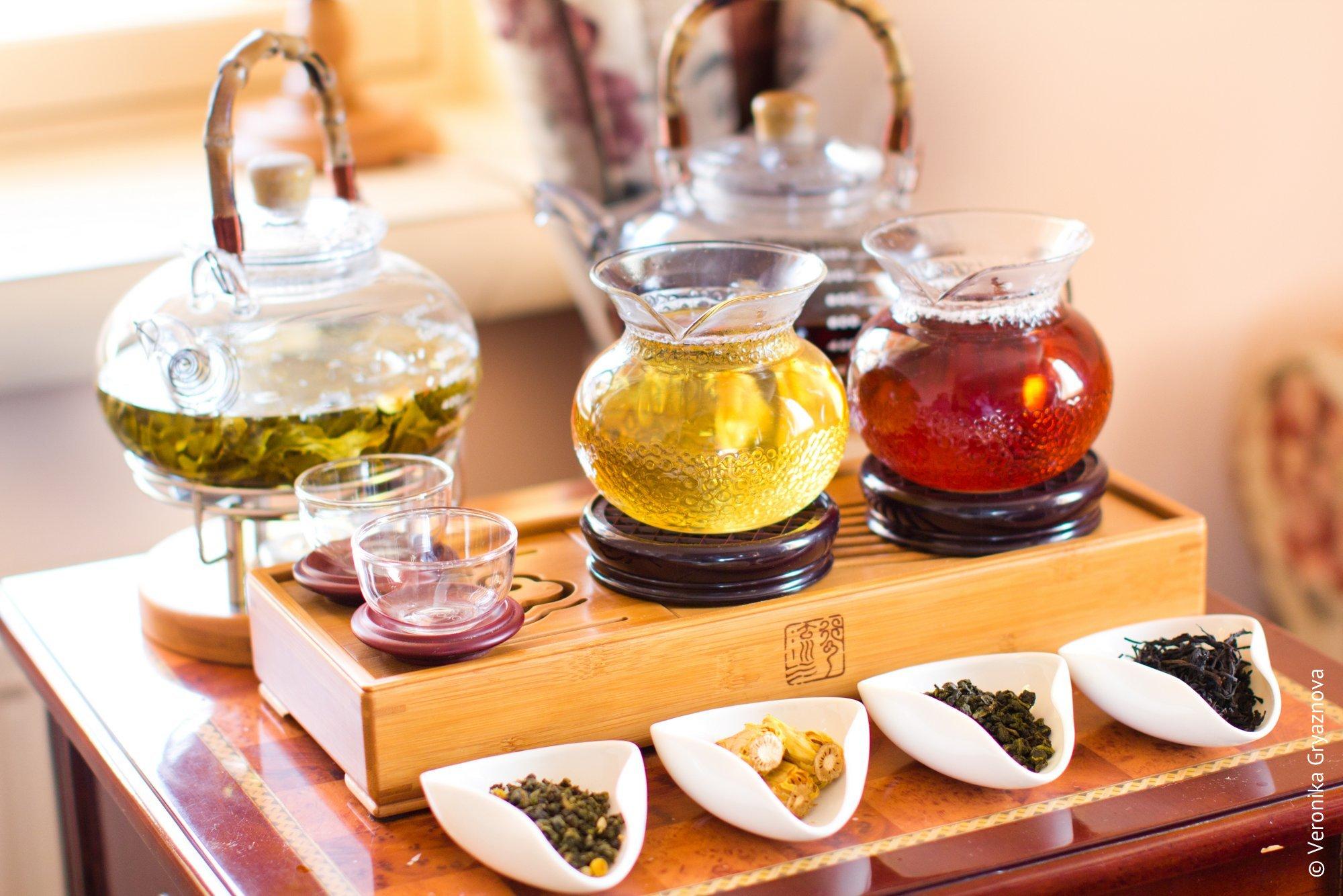Открытки. Международный день чая. Чай