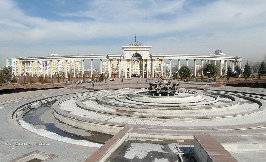 Фонтан в Парке Первого Президента